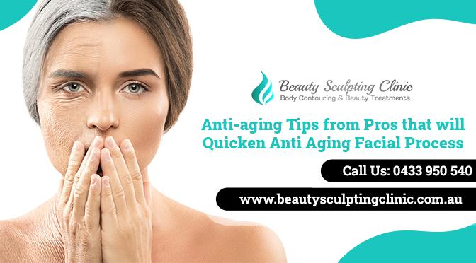 anti aging facial process